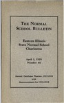 Bulletin 60 - A Catalogue for the Nineteenth Year (1917-1918)