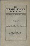 Bulletin 61 - Reading Aloud: War-Time Suggestions by John M. Clapp