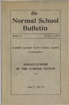 Bulletin 63 - Summer Session 1919