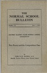 Bulletin 65 - New Poetry and the Composition Class by Earl R. K. Daniels