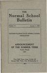 Bulletin 71 - Summer Session 1921