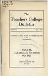 Bulletin 72 - Annual Catalogue 1920-1921