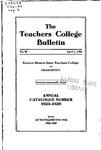 Bulletin 92 - Annual Catalogue 1925-1926
