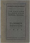 Bulletin - Summer Session 1905 by Eastern Illinois University