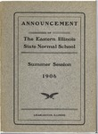 Bulletin - Summer Session 1906 by Eastern Illinois University