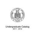 Eastern Illinois University Undergraduate Catalog 2011 - 2012