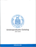 Eastern Illinois University Undergraduate Catalog 2007 - 2008 by Eastern Illinois University