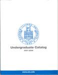 Eastern Illinois University Undergraduate Catalog 2007 - 2008