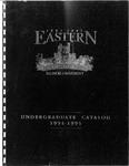 Eastern Illinois University Undergraduate Catalog 1994 - 1995