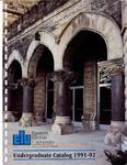 Eastern Illinois University Undergraduate Catalog 1991 - 1992