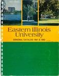 Eastern Illinois University Undergraduate Catalog 1981 & 1982