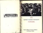 Eastern Illinois University Undergraduate Catalog 1964