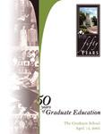 50 Years of Graduate Education by Graduate School of Eastern Illinois University