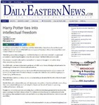 Harry Potter ties into intellectual freedom for Banned Books Week by Daily Eastern News