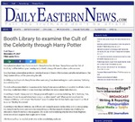 Booth Library to examine the Cult of Celebrity through Harry Potter by Daily Eastern News