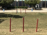 Quidditch Pitch, Both Sets of Goals