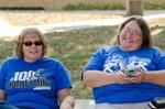 Beth Heldebrandt and Arlene Brown