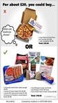 Food Choices - Which One Would You Choose? $20