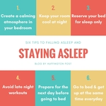 Six Tips to Falling Asleep Staying Asleep by Janine Johnson