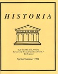 Historia Vol. 1 by Eastern Illinois University Department of History