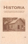 Historia Vol. 10 by Eastern Illinois University Department of History