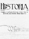 Historia Vol. 15 by Eastern Illinois University Department of History