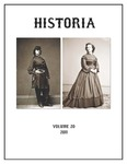 Historia Vol. 20 by Eastern Illinois University Department of History