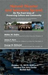 Natural Disaster and Senseless Sprawl: On the Front Lines of Preserving Culture and Community by Walter W. Gallas, James F. Kern, and George W. McDaniel