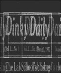 Laboratory School student newspaper: Dinky Daily, March 1973