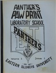 Panther's Paw Print Volume 1 Issue 1 (1967)