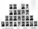 Lab School Image Grade 5-D 1972-1973 Mrs. Dillard