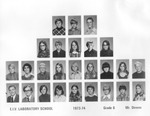 Lab School Image Grade 6 1973-1974 Mr. Downs