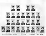 Lab School Image Grade 2-A 1969-1970 Mrs. Reece by Eastern Illinois University