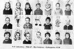 Lab School Image Kindergarten 4PM 1966-1967 Miss Anderson by Eastern Illinois University