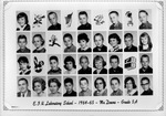 Lab School Image Grade 5-A 1964-1965 Mr. Downs by Eastern Illinois University