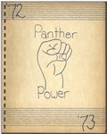 The Panther - Junior High School Laboratory School 1972-1973 by Eastern Illinois University
