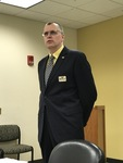 Interim Dean of Library Services Brad Tolppanen