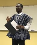 Student George Anaman, Economics