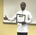 Student Razak Dwomoh, Early Childhood/Elementary/Mid-Level Education