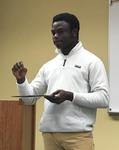 Student O. Tomiwa Shodipem, Economics by Beth Heldebrandt