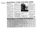 Booth Library to Host Civil Rights Exhibit by Abbey Whittington