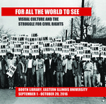Visual Culture & Civil Rights: A New Exhibit Opens at Eastern Illinois University by Matt Metcalf