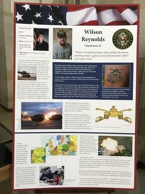 """Designs of Duty"": Wilson Reynolds"