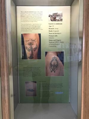 """""""Symbols of Service"""": Garret Anderson"""