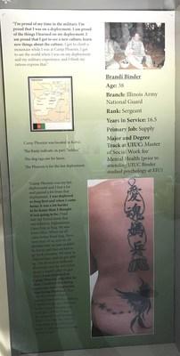 """Symbols of Service"": Brandi Binder"