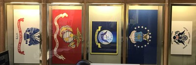 """Designs of Duty"": Military Flags"