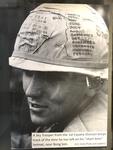 """Vietnam Helmet Graffiti"""