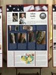 """Designs of Duty"": Adam Griffy by Beth Heldebrandt"