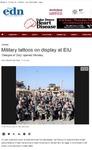 Military tattoos on display at EIU