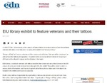 EIU library exhibit to feature veterans and their tattoos